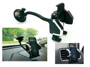 luxury in car mobile holder free shipping
