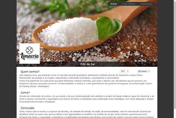 Loja online Limacria de produtos alimentares