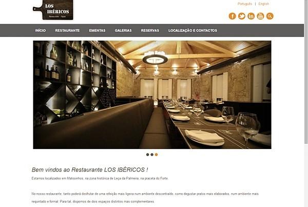 Restaurante Los Ibéricos em Leça da Palmeira Matosinhos