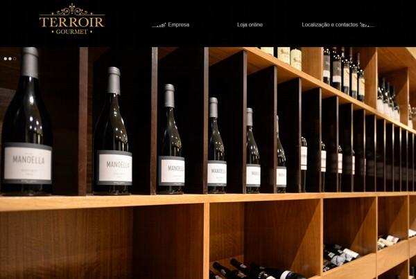 Home da Loja online de produtos alimentares Terroir Gourmet no Porto